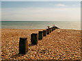 TQ6200 : Groyne, Eastbourne Beach by David Dixon