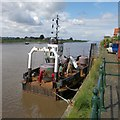 TF6120 : River Great Ouse, King's Lynn by Dave Hitchborne