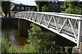 NT5015 : Footbridge in Mansfield Road, Hawick by Jim Barton