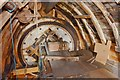 TL5942 : Ashdon Windmill - Brake Wheel by Ashley Dace
