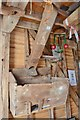 TL5942 : Ashdon Postmill - Flour Bin by Ashley Dace