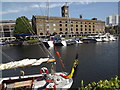 TQ3480 : East Dock, St Katharine Dock by Colin Smith