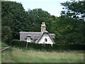 TL8163 : Mordaboy's Cottage in Ickworth Park by Richard Humphrey