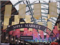 TQ3080 : Apple Market Banners by Colin Smith