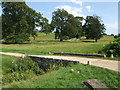 TL8061 : Bridge over The River Linnet in Ickworth Park by Richard Humphrey