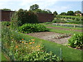TL8160 : Vegetable garden at Ickworth House by Richard Humphrey