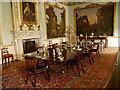 SJ9922 : Dining Room, Shugborough Hall by David Dixon