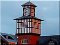 C8540 : Clock tower, former railway station, Portrush (2) by Albert Bridge