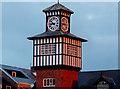 C8540 : Clock tower, former railway station, Portrush (2) by Albert Bridge
