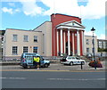 SN5881 : Aberystwyth Public Library by John Grayson