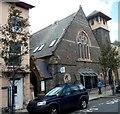 SN5881 : Surgery and pharmacy in a former Portland Street church, Aberystwyth by Jaggery