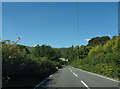 SH8912 : A458 approaching Pen-rhiwcul by John Firth