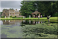 ST3505 : Mermaid Pond, Forde Abbey by Stephen McKay