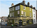 TQ3004 : The earth & stars, Church Street / Windsor Street, BN1 by Mike Quinn
