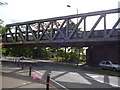 TQ2568 : Sutton Loop Rail Bridge, London Road, Morden by R Sones