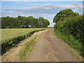 TL2261 : Footpath to High Barn by Hugh Venables