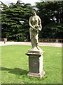 SK5339 : Female statue in the garden by Andrew Abbott