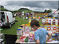 SE7296 : Sweets galore at the Rosedale Show, 2012 by Pauline Eccles