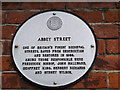 TR0161 : Abbey Street Plaque, Faversham by David Anstiss