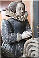 SK8039 : Bridget Manners, on Tomb of 4th Earl of Rutland, Bottesford Church by J.Hannan-Briggs