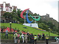 NT2573 : Edinburgh is now ready for the Paralympic Games by M J Richardson