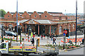 SP0786 : Birmingham Moor Street Station frontage by roger geach