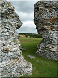 TR3260 : Richborough Castle Roman Fort - North (postern) gate by Rob Farrow
