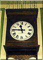 TQ1678 : Station Clock, Boston Manor Station by PAUL FARMER