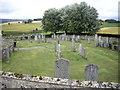 NJ4717 : Kildrummy Kirkyard by Stanley Howe