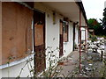 SP3870 : Derelict Accommodation Woodhouse Hotel by Nigel Mykura