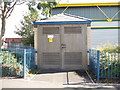 SE2930 : Electricity Substation No 8177 - Westland Road by Betty Longbottom