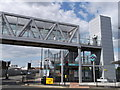 TQ3982 : Entrance to Star Lane DLR Station by David Anstiss