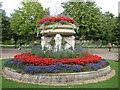 TQ2882 : Flower bed in Regent's Park, London by pam fray