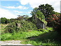 J1911 : Ruined cottage behind Carlingford Abbey by Eric Jones