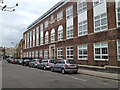 TQ3276 : Former Mary Datchelor School extension, Grove Lane SE5 by Robin Stott