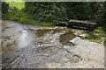 SW5633 : The ford on Countess Bridge Lane by Elizabeth Scott
