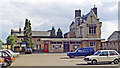 SP0201 : Former Cirencester Town station, 1984 by Ben Brooksbank