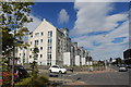 NJ9405 : Modern flats, College Street, Aberdeen by Bill Harrison