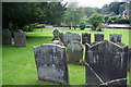 SJ9722 : Churchyard of St John the Baptist, Tixall by Bill Boaden