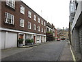 TQ2881 : The Dover Castle on Weymouth Mews by Ian S