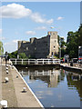 SK7953 : Newark Town Lock  by Alan Murray-Rust