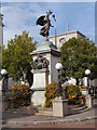 ST1876 : The South African (Boer War) Memorial by David Dixon