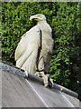 ST1776 : Vulture, Cardiff Animal Wall by David Dixon