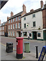 SK7953 : Appleton Gate postbox (ref. NG24 21)  by Alan Murray-Rust