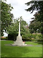 SK7953 : War Memorial, St. Mary's churchyard  by Alan Murray-Rust