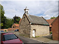 SK8053 : Bede House Chapel, south side  by Alan Murray-Rust