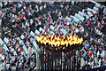 TQ3783 : Paralympic Flame, Olympic Stadium by Oast House Archive