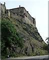 NT2573 : Edinburgh Castle - southern aspect by Rob Farrow