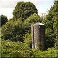 SJ6374 : Barnton Tunnel Ventilation Shaft by David Dixon