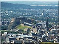 NT2573 : Edinburgh Castle from Arthur's Seat by Rob Farrow